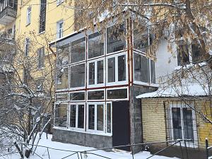 Сварка и остекление балкона